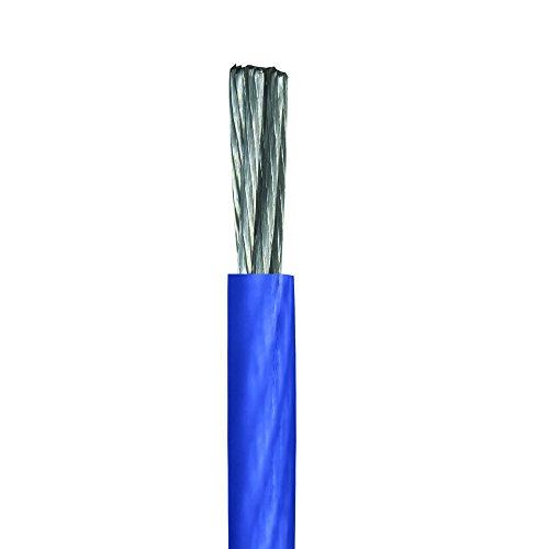 Stinger SHW14B 100 Ft. of 4 Gauge Matte Blue Hyper-Flex Power/Ground Cable, Blue