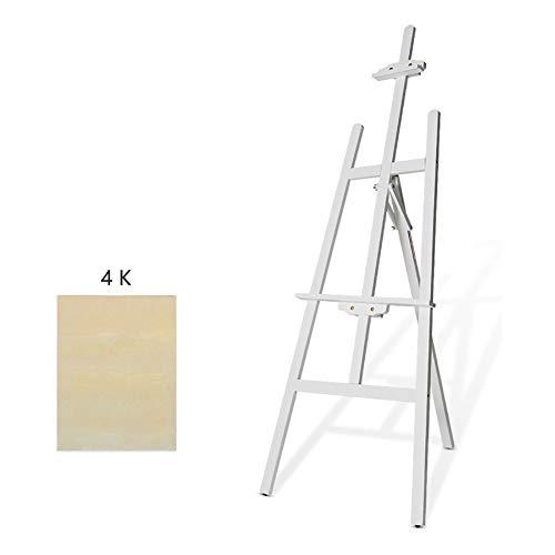 イーゼル 木製キッズアートスケッチ三脚ディスプレイイーゼル1.5 Mの木製絵画スタンドイーゼル広告スケッチ棚 (色 : 白 サイズ さいず : Style-2)