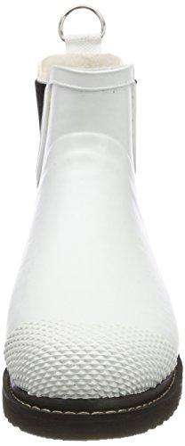 Ilse Jacobsen Damen Gummistiefel Kurz, Rub47f - Botas Mujer blanco (blanco)