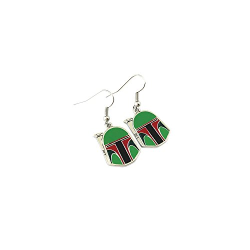 Outlander Star Wars Boba Fett Color Earring Dangles In Gift -