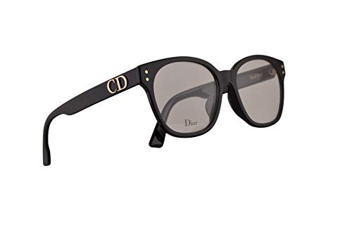Christian Dior DiorCD1 Eyeglasses 50-20-145 Black w/Demo Clear Lens 807 CD 1 CD1