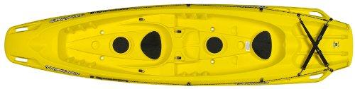 Trinidad Fishing Kayak (BIC Trinidad Deluxe Kayak, Yellow)