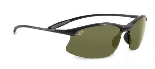 - Serengeti Maestrale Sunglasses (Polar PhD 555, Shiny Black)
