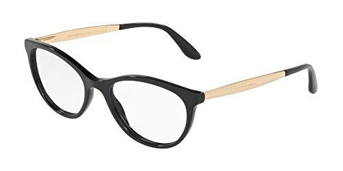 - Dolce Gabbana DG3310 Black/Clear Lens Eyeglasses