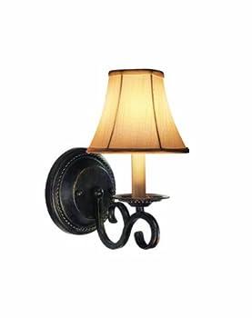 Woodbridge Lighting 42001-BBZ Basic 1-Light Wall Sconce, Burnished Bronze