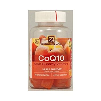 Nutrition Now CoQ10 Adult Gummy Vitamin - 60 Gummy Vitamins by Nutrition Now