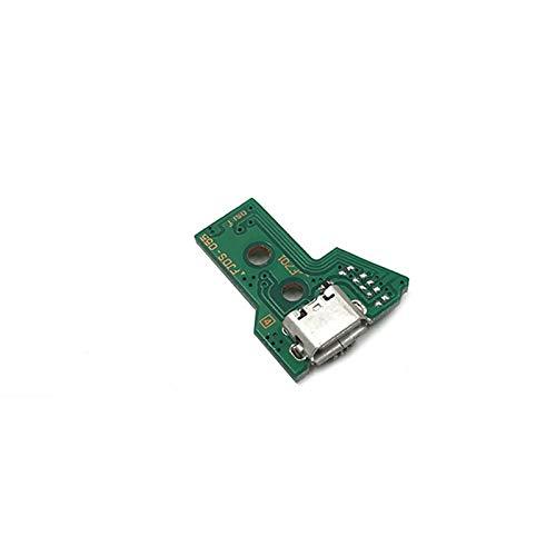 REFURBISHHOUSE Per Sony PS4 controller porta USB di ricarica Presa Consiglio JDS-055 5TH V5 cavo a 12 pin