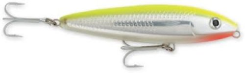 Cheap Rapala Saltwater Skitter Walk 11 Fishing Lure (Holographic Bone Chartreuse)