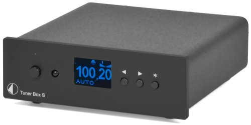 Pro-Ject Audio - Tuner Box S - FM Tuner (Black) by Pro-Ject