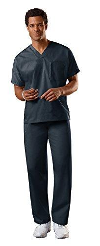 Cherokee Uniforms Authentic Workwear Unisex Scrub Set (Pewter, L)