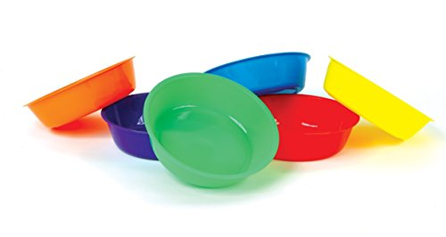 colored plastic bowls - 3