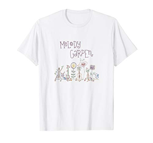 Melody Garden - Kids Music Album T-Shirt for Adults