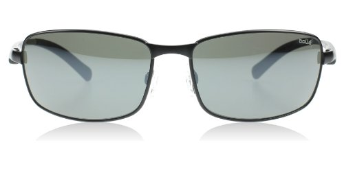 Bolle Key West Sunglasses, Matte Black, Polarized TNS Gun Oleo - Sunglasses Key West