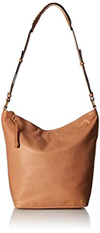 Elliott Lucca Marin Bucket Bucket Bag, Almond, One Size - Elliott Lucca Leather Shoulder Bag