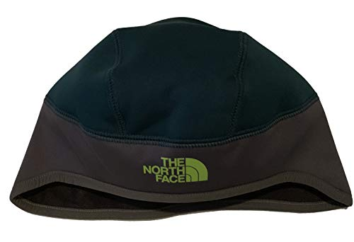 The North Face Men's Windgall Stay Warm Beanie Cap Hat (Grey/Green, Large/X-Large)
