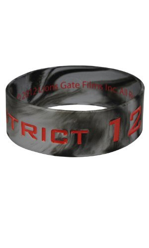 Peeta Catching Fire Costume (The Hunger Games Movie Rubber Bracelet District 12 Tribute)