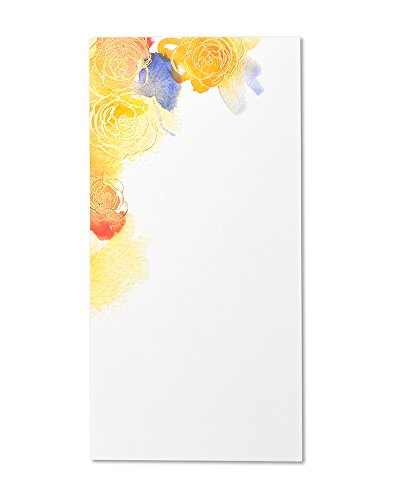 George Stanley Watercolor Flowers Tea Length Imprintable Invitation,