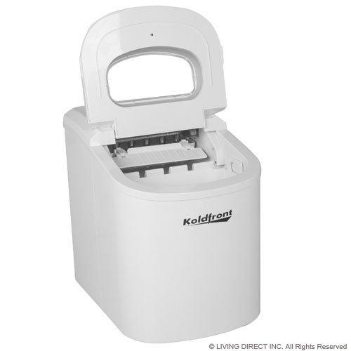 Koldfront Ice Maker Portable Premium Compact Countertop Tabletop ...