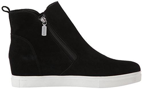 Sneaker Impermeabile In Pelle Scamosciata Di Giglio Nero Blondo