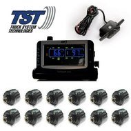 (Truck Systems Technology TST 507 Tire Pressure Monitor w/12 Cap Sensors with Color Display)