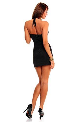 Delle Estate Donne Signore Nera 8 Vestito Sexy Da 4 Taglia Noi Sundress Partito Mini Una 6 wqt04x