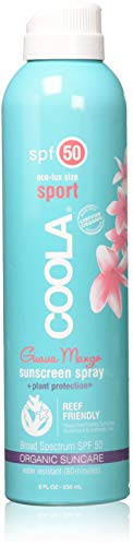 Coola Eco-Lux SPF 50 Sunscreen Spray-Guava Mango, 8 oz