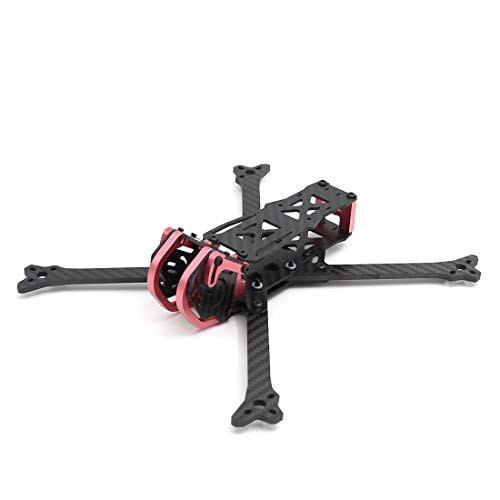 Aquaman 6inch 255mm Truex 4mm arms Aluminum Parts FPV Racing Freestyle Quadcopter Frame Drone kit Rooster