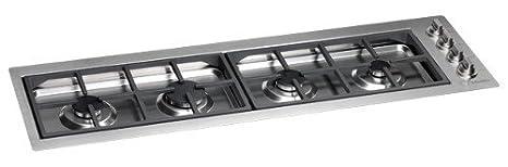 Scholtes - Piano Cottura a Gas Filotop B 40 L/CS F Finitura Inox da ...