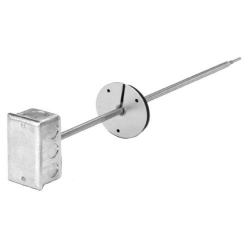 18'' Platinum RTD Duct Point Temperature Sensor - 100 Ohm