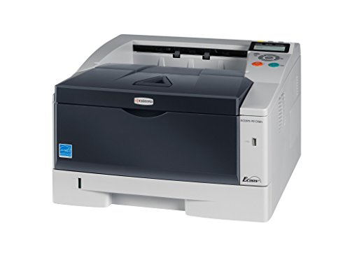 Kyocera 1102PJ2US0 ECOSYS P2135dn Black & White Network Printer, Fast Output Speed of 37 Pages per Minute, Warm Up Time 16.5 seconds or less from main power on and sleep, First Page Out 8 seconds or l