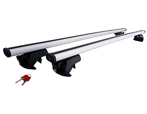 G3 15HY00705 Barres de Toit en Aluminium mod/èle Open pour Voitures avec Railing