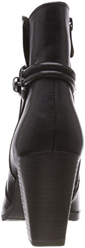Antic 25372 Negro black 002 Tozzi Mujer Para Premio Botines Marco 21 zPnw1xxq