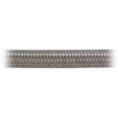 Earl's 306006 Auto-Flex HTE Stainless Steel Wire Braid Size 6 Rubber Hose - 6 Feet