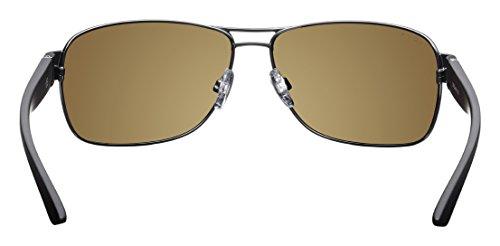 Aoligei Riz à ongles Dame fashion lunettes de soleil rétro transparente mince hommes lunettes de soleil PxAghkM