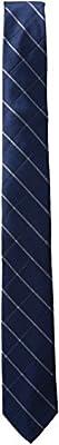 Calvin Klein Men's Waffle Windowpane Slim Tie