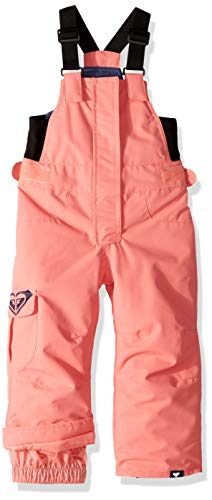 Roxy Girls' Toddler Lola Snow Pant, Shell Pink, 2