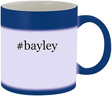 #bayley - Ceramic Hashtag Blue Color Changing Mug, Blue