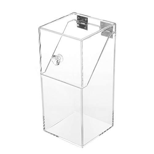 Clear Acrylic Makeup Arrangement Storage Box Brush Holder Organizer Case