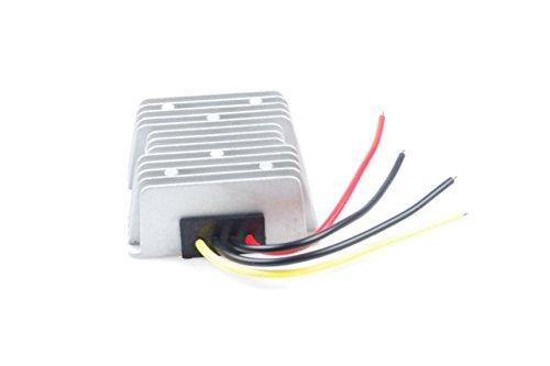 KNACRO 12V 24V (9-30V) To 48V 6A 288W DC-DC Waterproof Boost Converter Automatic Step Up Voltage Regulator Module Car Power Supply Voltage Transformer Input 9-30V with 4 Wires (12V UP TO 48V 6A) by KNACRO (Image #2)