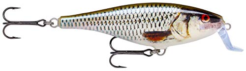 Rapala Super Shad Rap Crankbait 140 mm (45 gr), Size 45 gr Natural fish