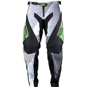 Msr Motorcycle Gear (MSR Racing NXT Pulse Men's MotoX Motorcycle Pants - Black/Green / Size 30)