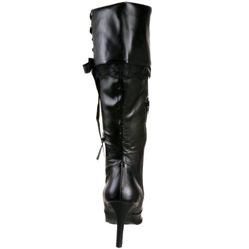 Polyurethane Black Women's 110X Boot Plunder by Pleaser Funtasma xBWa1n0Cn