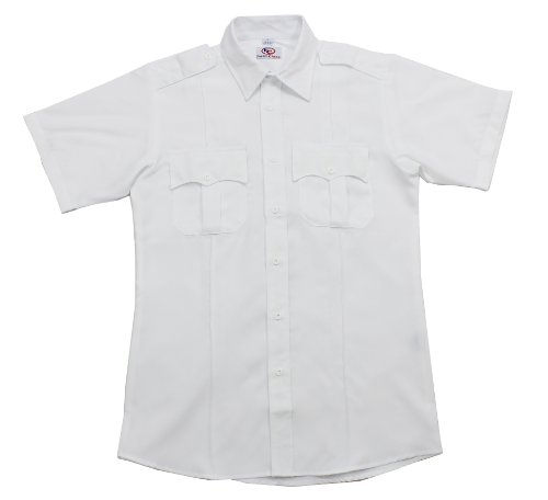 First Class Short Sleeve Uniform Shirt 2XL White