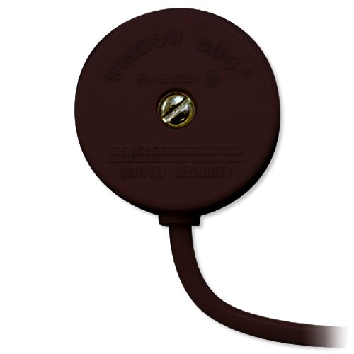 USP Window Bug Glass Break Sensor, Brown (724-Bronze)