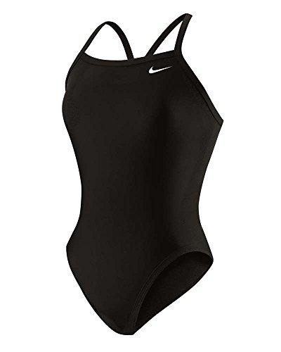 Nike Nylon Core Solid Lingerie Tank Swimsuit - Women's Size 24 Color Black
