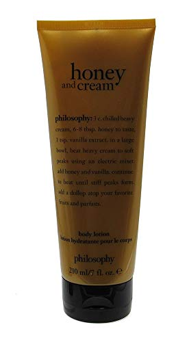 Honey Body Cream - Philosophy Body Lotion 7 fl. oz / 210 ml (Honey and Cream)