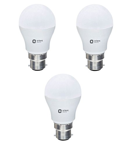 Orient Electric ES_14W_CDL3 Round Base B22 14-Watt LED Bulb (Pack of 3, White)