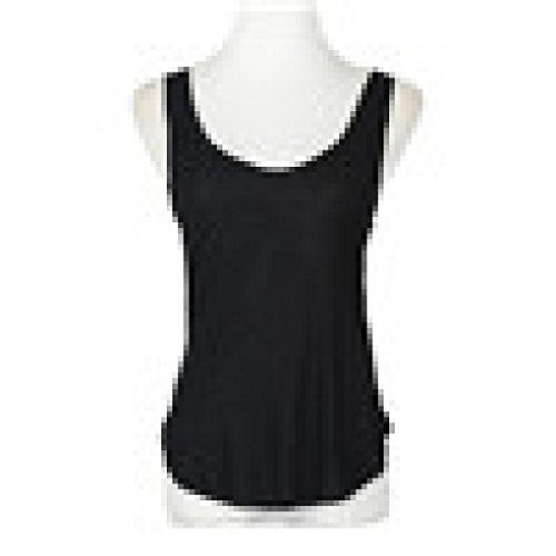 Willsa Women Blouse, Fashion Summer Lady Sleeveless V-Neck Candy Vest Loose Tank Tops (Black) - Silk Blend Sleeveless Top
