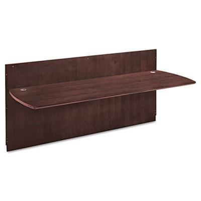 Mayline Napoli Series Reception Desk Top, 86-1/2w x 37-1/4d x 1-1/8h, Mahogany (MLNNRDTMAH) Category: Wood Desks