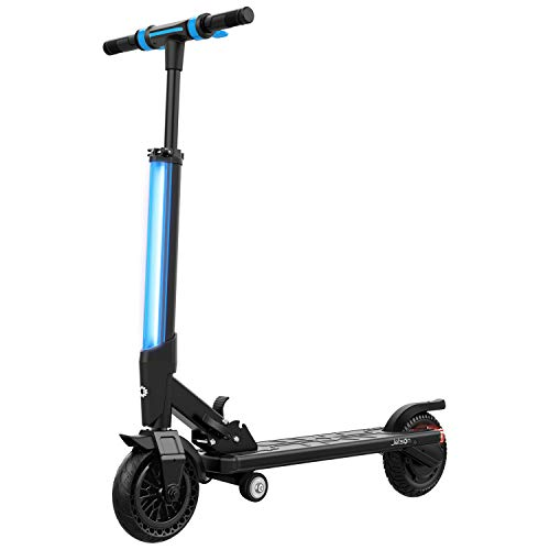 Aluminum Electric Scooter - Jetson Electric Bike Bio Folding Electric Scooter with Bright LED Stem Light and LCD Display, for Teens & Adults